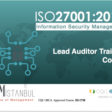 ISO/IEC 27001:2013 Lead Auditor Training Course (5 Day) – (CQI|IRCA Certified) – (in English)