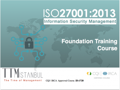 ISO/IEC 27001 Foundation Training Course (2 Day)